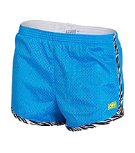 Soffe® Juniors' Mesh Short with Zebra Accent