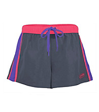 Soffe® Juniors' Contrast Active Short with Drawstring Waist