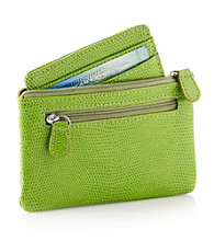 Relativity® Green Lizard Coin Card & Key Wallet
