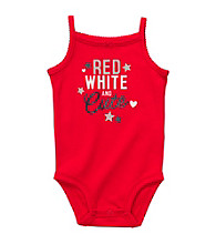 Carter's® Baby Girls' Red 4th of July Bodysuit