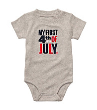 Carter's® Baby Boys' Grey 4th of July Bodysuit