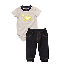 Carter's® Baby Boys' Grey 2-pc. Construction Set