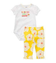 Carter's® Baby Girls' Yellow/White 2-pc.