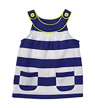 Carter's® Baby Girls' Navy/White Striped Babydoll Tank