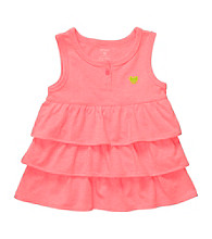 Carter's® Baby Girls' Pink Ruffled Tank Top