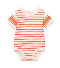 OshKosh B'Gosh® Baby Boys' Orange Striped Bodysuit