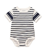 OshKosh B'Gosh® Baby Boys' Navy Striped Bodysuit