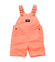 OshKosh B'Gosh® Baby Boys' Neon Orange Shortall