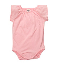 OshKosh B'Gosh® Baby Girls' Pink Flutter Sleeve Bodysuit