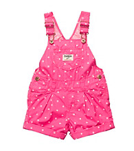OshKosh B'Gosh® Baby Girls' Pink Polka-Dot Shortall