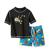 Carter's® Baby Boys' Brown 2-pc. Monkey Rashguard
