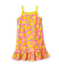 Carter's® Girls' 2T-14 Pink Lemon Print Sleep Gown