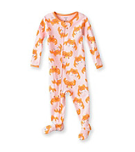 Carter's® Baby Girls' Pink Crab Print Footie Pajamas