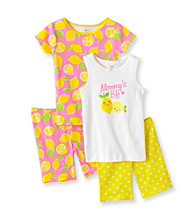 Carter's® Girls' 4-7 Yellow/Pink 4-pc.