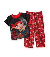 Nickelodeon® Boys' 2T-4T Black/Red 2-pc. Jake the Pirate