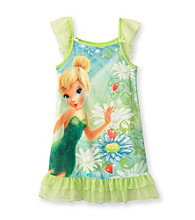 Disney® Girls' 4-8 Green Tinkerbell Dorm