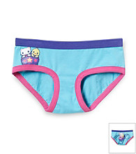 St. Eve® Intimates Girls' 6-16 Blue Roller Coaster Boyshorts