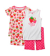Carter's® Girls' 12M-4T Pink 4-pc. Strawberry