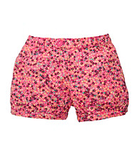 OshKosh B'Gosh® Girls' 2T-4T Pink Floral Print Shorts