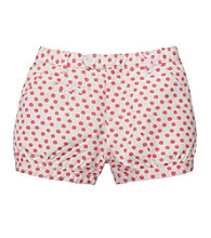 OshKosh B'Gosh® Girls' 6M-4T Coral/Ivory Polka-Dot Shorts