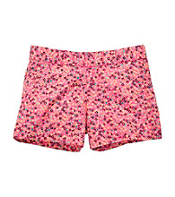 OshKosh B'Gosh® Girls' 4-6X Pink Floral Print Shorts