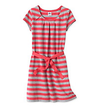 Miss Attitude Girls' 7-16 Striped Dress