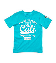 Carter's® Boys' 4-7 Turquoise Short Sleeve Huntington Beach Tee
