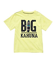 Carter's® Boys' 2T-7 Yellow Short Sleeve Big Kahuna Tee