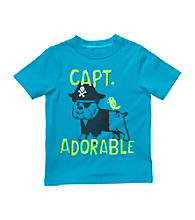 Carter's® Boys' 2T-4T Turquoise Short Sleeve