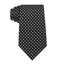 Kenneth Roberts Platinum® Men's Black Anise Neat Silk Tie
