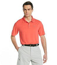 Callaway® Men's Paradise Red Short Sleeve Solid Polo