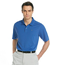 Callaway® Men's Deep Ultra Marine Short Sleeve Solid Polo