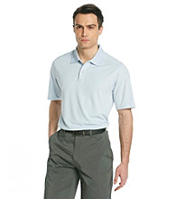 Callaway® Men's Light Blue Short Sleeve Solid Polo