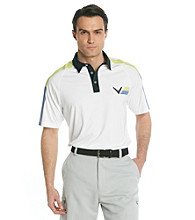 Callaway® Men's Wild Lime Short Sleeve Colorblock Polo