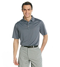 Callaway® Men's Folkstone Grey Short Sleeve Mini Jacquard Polo