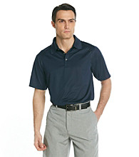 Callaway® Men's Peacoat Navy Short Sleeve Mini Jacquard Polo