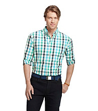 Izod® Men's Checkerboard Plaid Woven Shirt