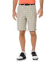 PGA TOUR® Men's Chincilla Three-Color Plaid Short