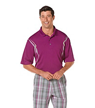 PGA TOUR® Men's Grape Juice Ergo Print Polo