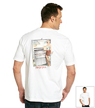 Tommy Bahama® Men's White Pin Up Grill Tee Shirt