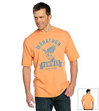 Tommy Bahama® Men's Goldfish Orange Marathon Rummer Tee Shirt