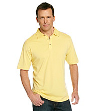 Tommy Bahama® Men's Angelfish Yellow Palm Cove Spectator Polo