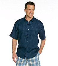 Tommy Bahama® Men's Navy Via Palmero Camp Shirt