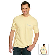 Tommy Bahama® Men's Wicker Yellow On the Rocks Tee Shirt