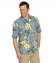 Tommy Bahama® Men's Seal Tropical Mosaic Silk Shirt