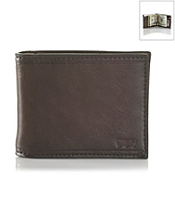 Levi's® Men's Brown Front Pocket Leather Wallet