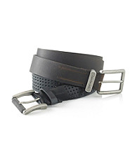Calvin Klein® Men's 38MM Flat Strap Leather Belt