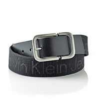 Calvin Klein® Men's Black 39MM Fabric Belt