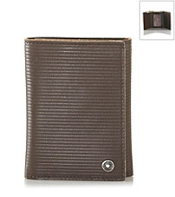 Calvin Klein® Men's Leather Tri-Fold Wallet