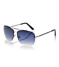 Kenneth Cole New York® Men's Grey Navigator Sunglasses